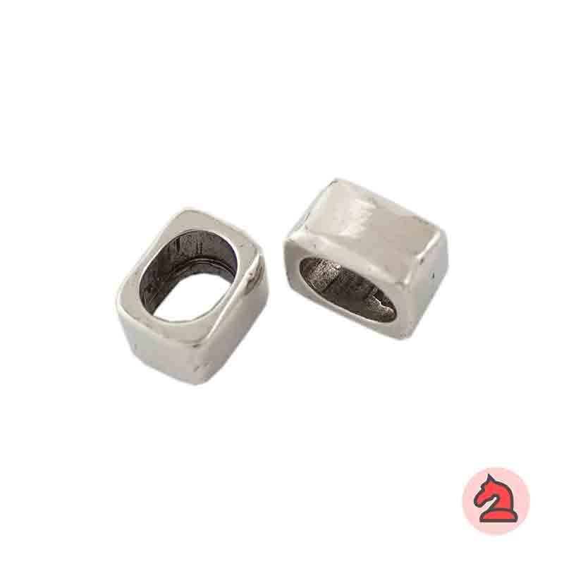 Pasador Para Cuero Regaliz - Paquete de 30 unidades Medidas apróx: 14X11X8 mm Para cordón de 10X7 mm