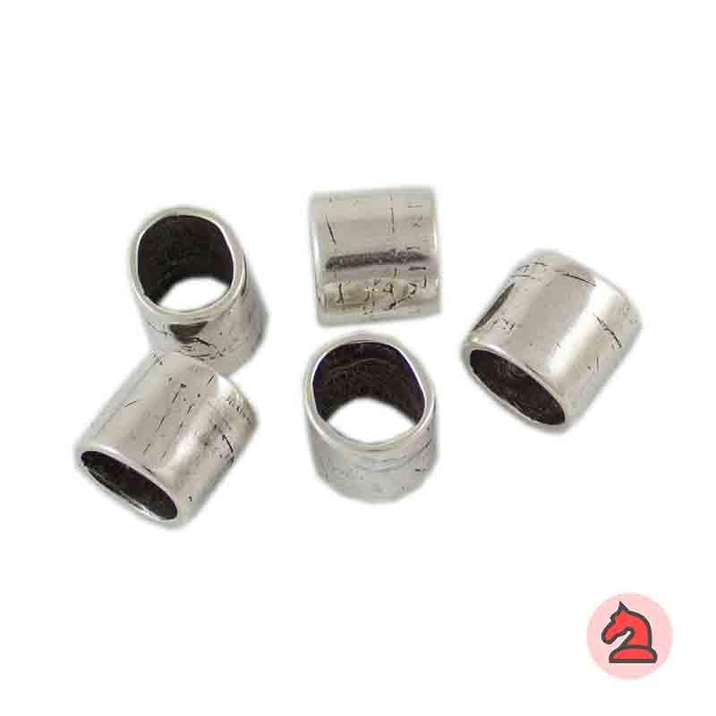 Pasador Para Cuero Regaliz - Paquete de 30 unidades Medida apróx: 12X11 mm, para cordón de 10X7 mm
