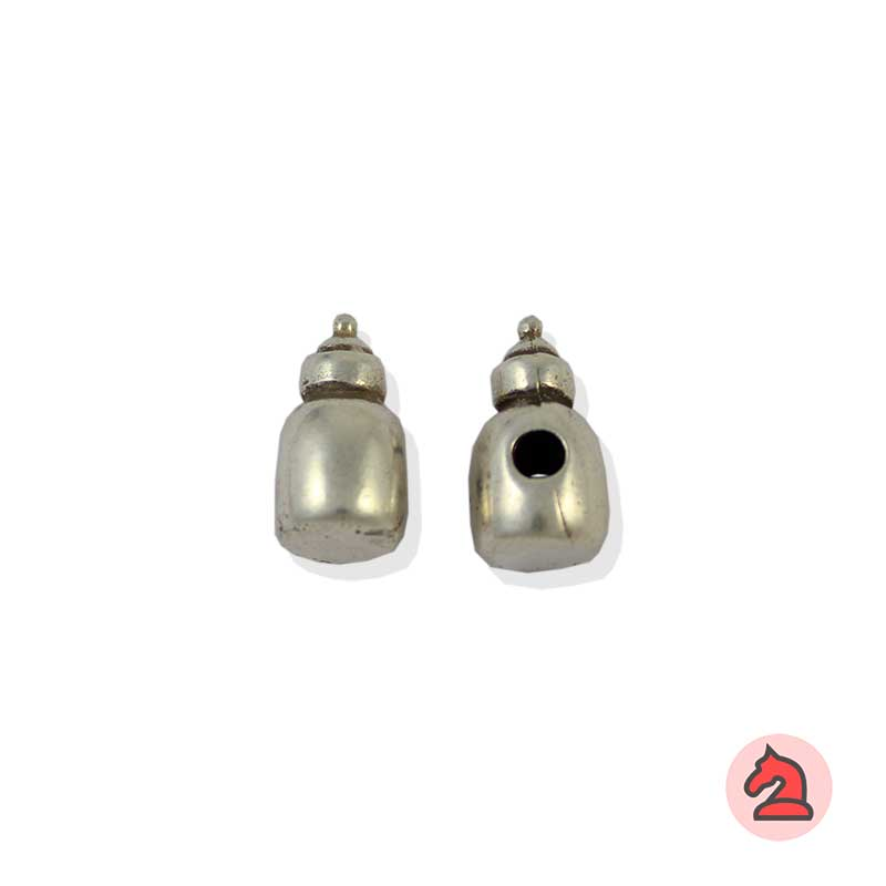 Charm biberón para enfilar - Bolsa de 20udsTamaño aproximado 16X8 mm, agujero para cordón de 3 mm