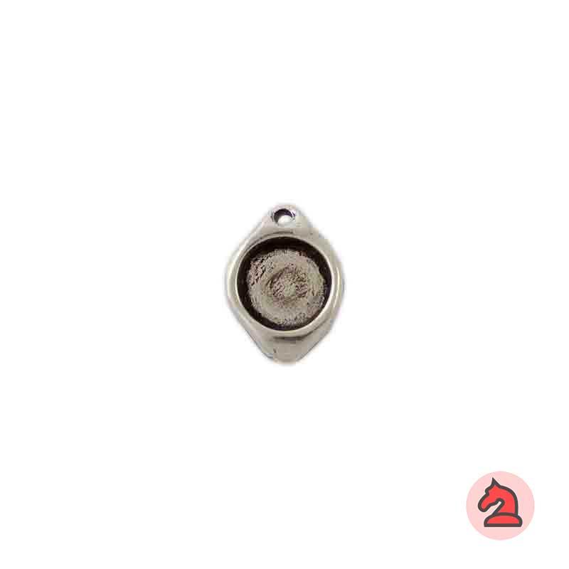 Colgante 19X15 mm para adornar con piedra de 10 mm - Paquete de 20 unidades
