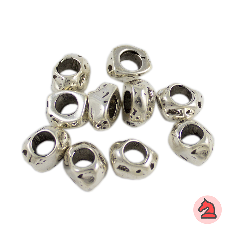 Donuts irregular 10X7 mm. Agujero 5 mm