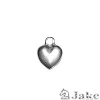 Colgante Corazón Volumen 15X11 mm. Anilla 2 mm - Paquete de 30 unidades