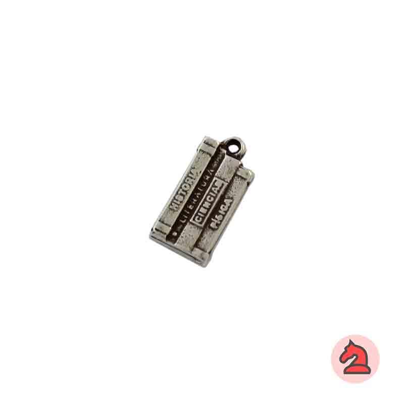 Charm Física y Química - Paquete de 30 unidadesTamaño aproximado 14X8 mm, anilla 1.5 mm