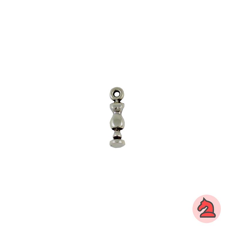Charm maniqui - Bolsa de 30 uds Tamaño aproximado 16 mm, anilla de 2 mm
