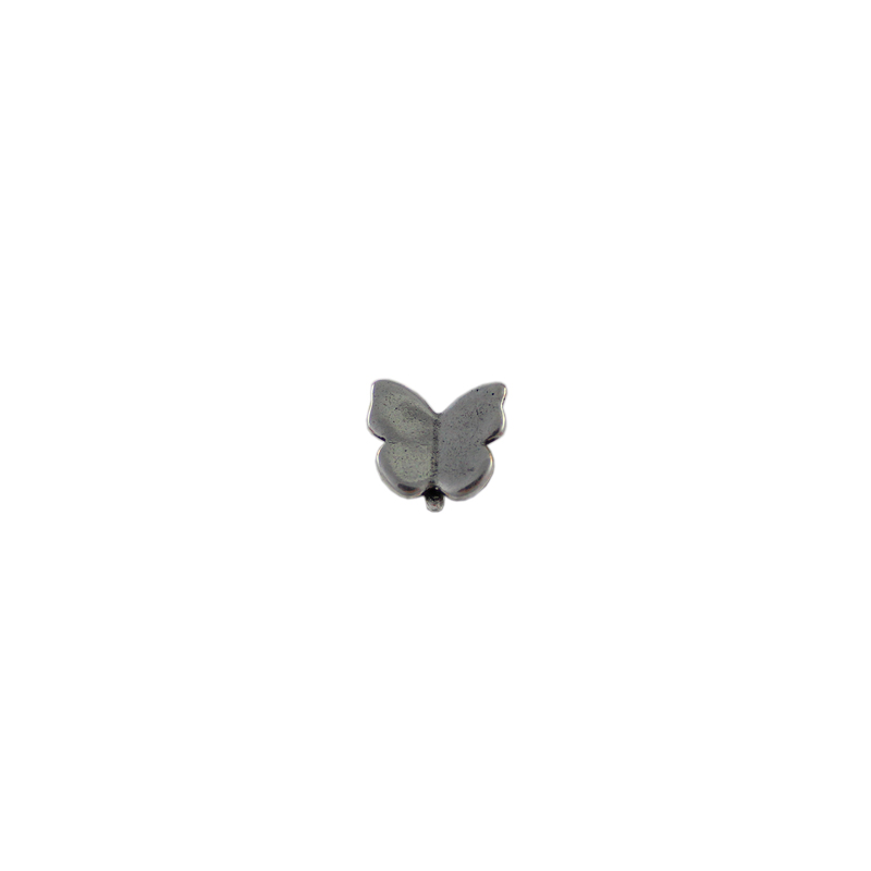 Pendiente mariposa - Bolsa de 20 uds Tamaño aproximado 10X11 mmLos pendientes en baño oro y solo en baño oro llevarán sus traseras