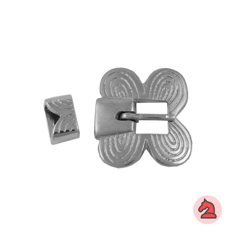 Hebilla Mariposa y Pasador - Paquete de 5 unidades