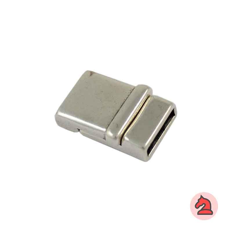 Cierre Imán 27X17 mm. Para tira de 15X2 mm - Venta por bolsa de 10 uds