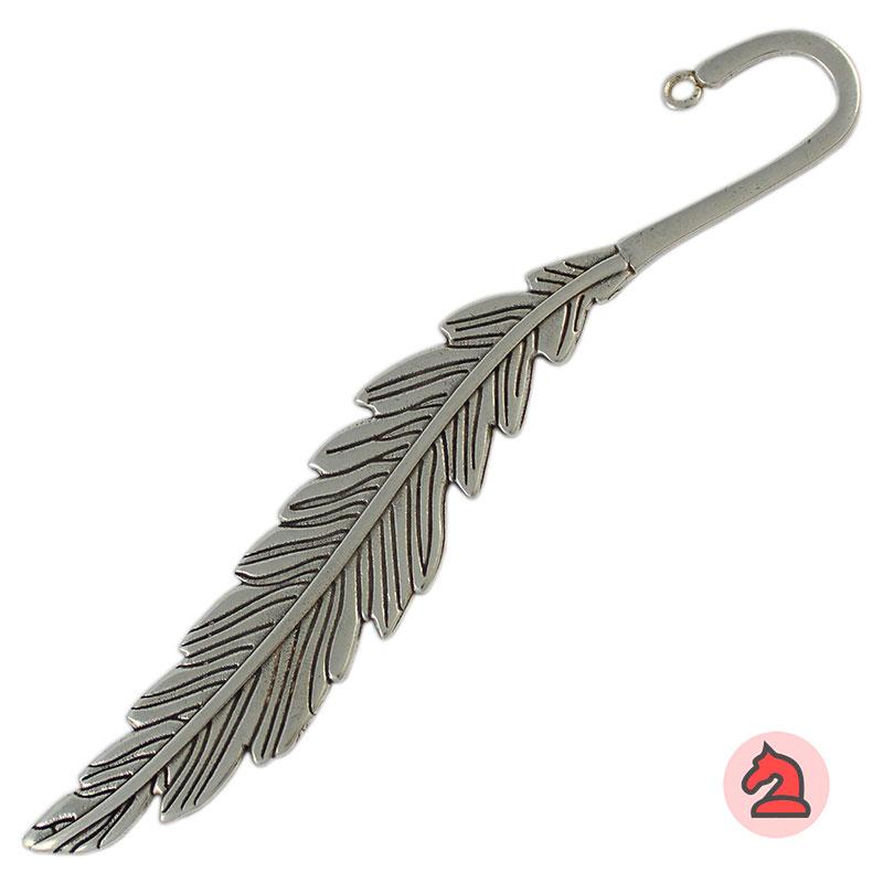 Marcapáginas pluma - Paquete de 10 unidades Medida Apróx: 14 centímetros  Anilla: 2 milímetros