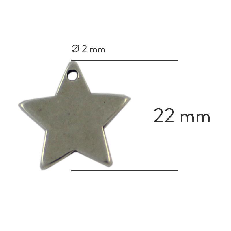 Estrella para grabar - Bolsa de 30 unidades
