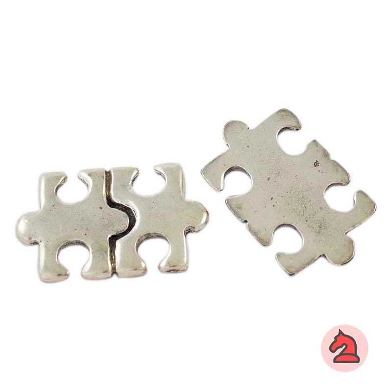 Colgante Puzzle - Paquete de 10 unidadesTamaño aproximado 50X30 mm