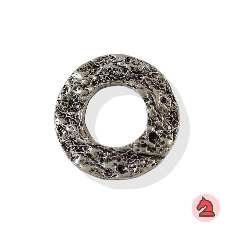 Aro con textura piedra 42 mm - Paquete de 10 unidades