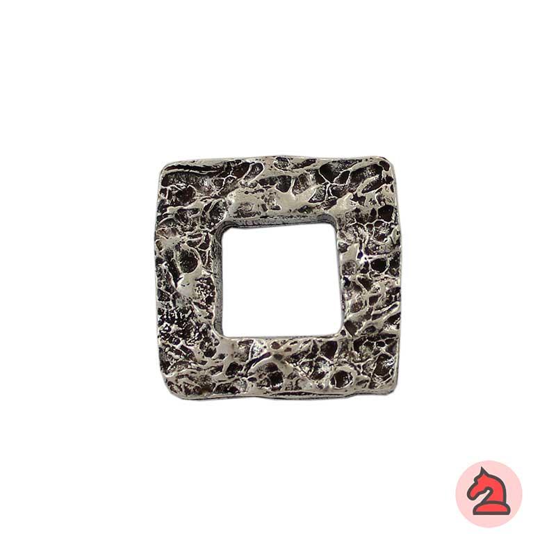 Entrepieza Cuadrada textura piedra 27 mm - Paquete de 10 unidades