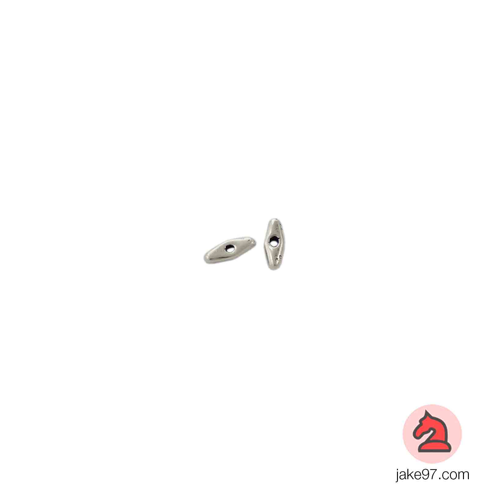 Lágrima Pequeña - Paquete de 30 unidades Tamaño apróx 10X5 mm, taladro de 2mm