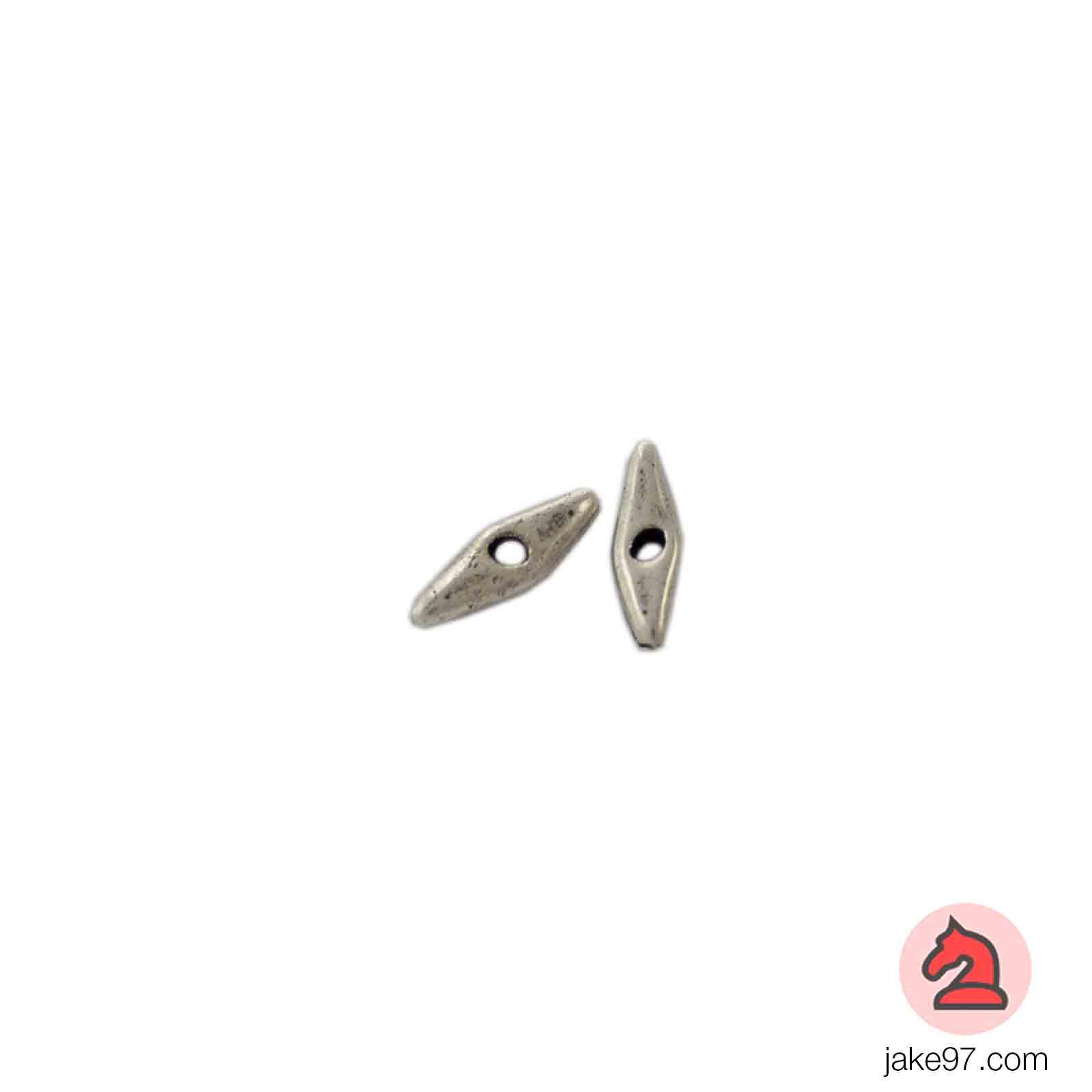 Lágrima Mediana - Paquete de 30 unidades Tamaño apróx 19X5 mm, taladro 2mm