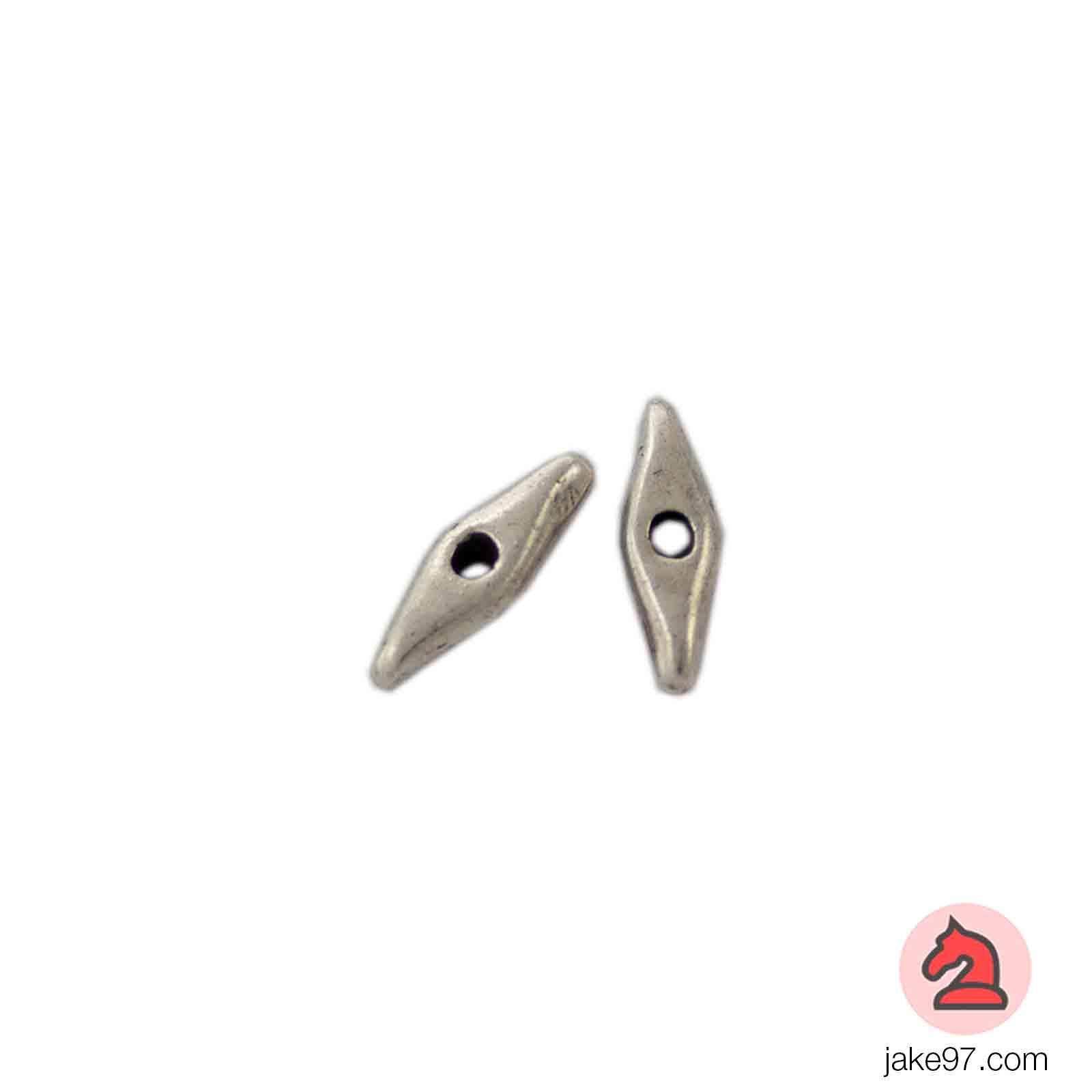 Lágrima Grande - Paquete de 30 unidades Tamaño apróx 21X5 mm, taladro de 2 mm