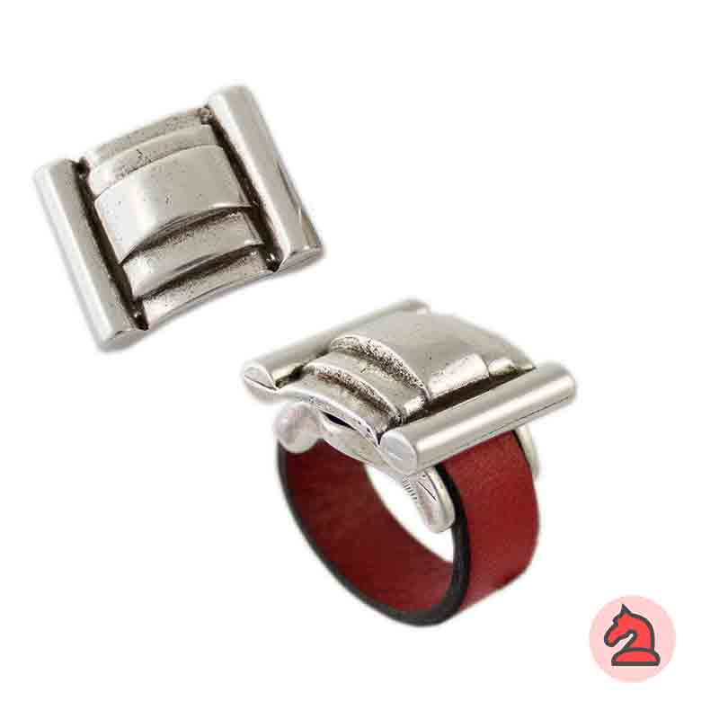 Complemento para base de anillo tejado 23X20mm - Paquete de 6 unidades