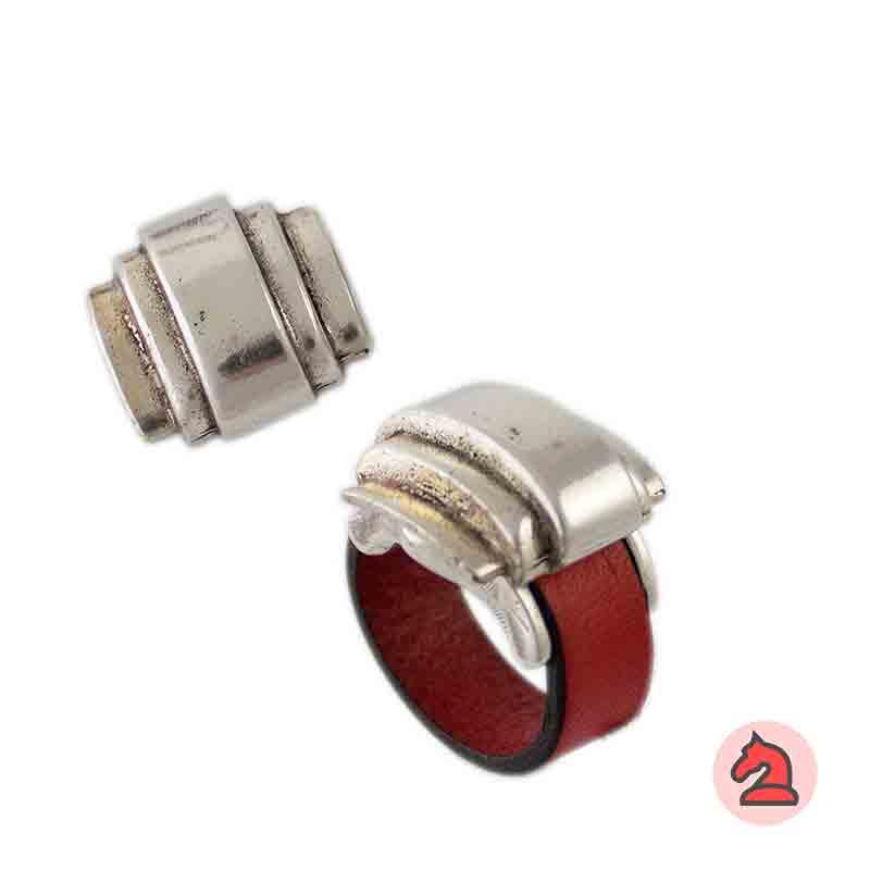 Complemento para base de anillo sombrero 20X20mm - Paquete de 6 unidades