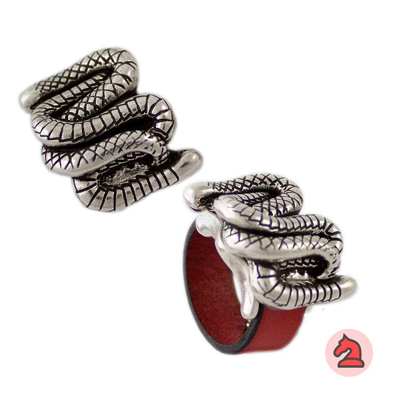 Complemento para base de anillo serpientes 27X21mm - Paquete de 6 unidades