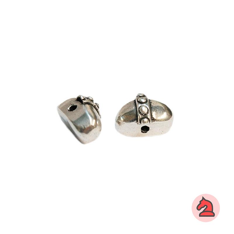 Piedra Complemento 21X13 mm. Taladro 2,5 mm - Paquete de 5 unidades