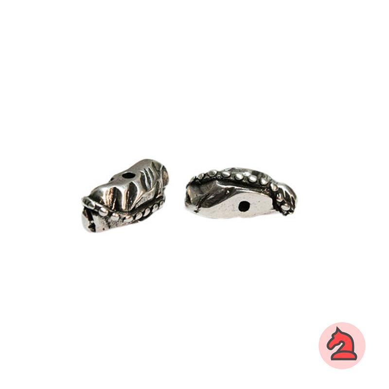 Piedra Complemento con relieve 29X12 mm. Taladro 2,5 mm - Paquete de 5 unidades