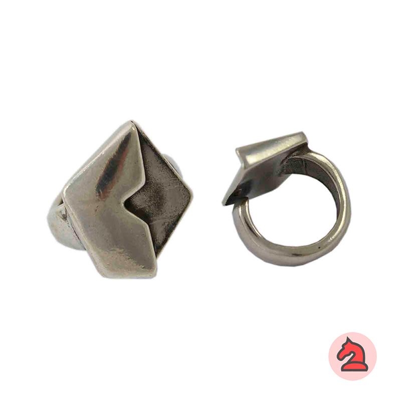Anillo ajustable para personalizar - Bolsa de 5 uds  Tamaño de la decoración: 26X22 mm