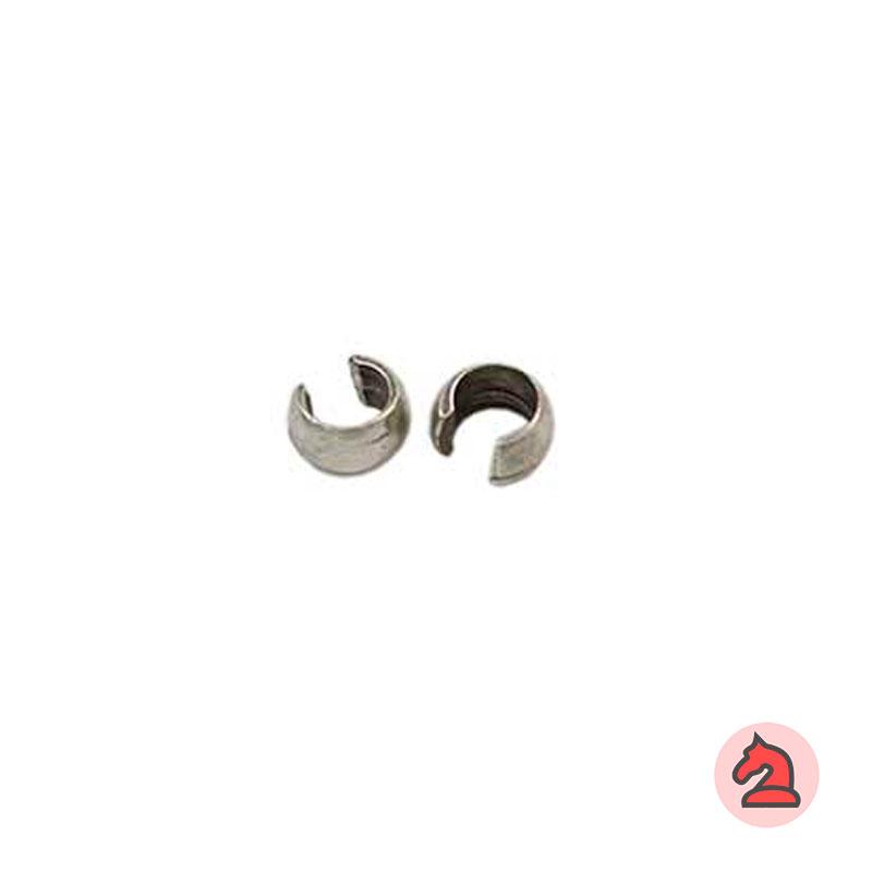 Chafa Bola 5 mm - Venta por bolsa de 100 unidadesCaracterísticas: Para cordón de 5 mm Tamaño de superficie 5 X 1,2 mm