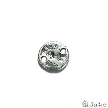Pasador moneda erosionada míni 13 mm. Agujeros 2,5 mm - Venta en bolsas de 50 unidades