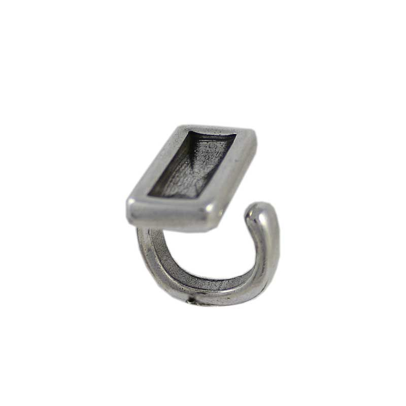 Anillo ajustable rectangular - Bolsa de 5uds