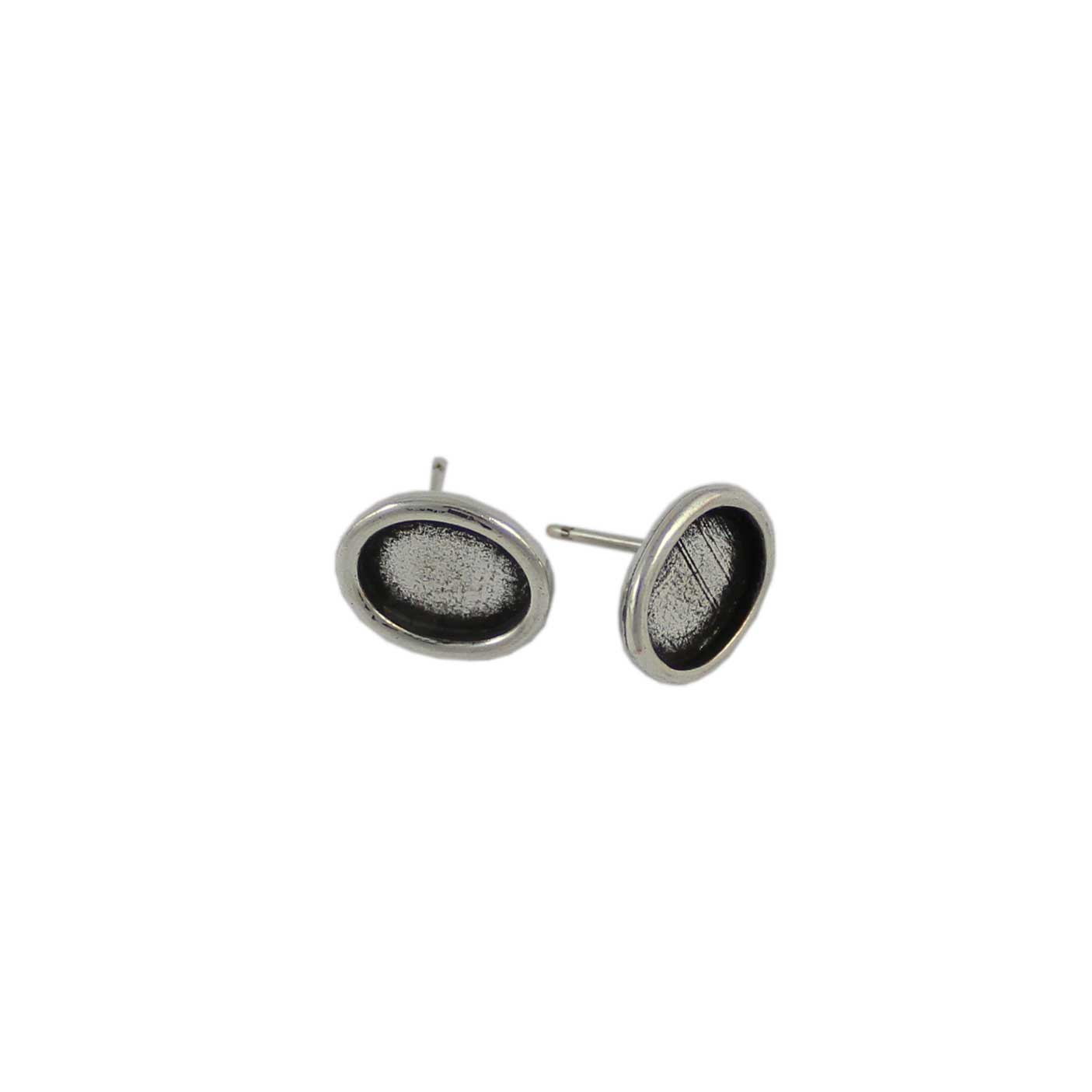 Base pendiente redondo para cristal de 5mm - Bolsa de 30 unidades