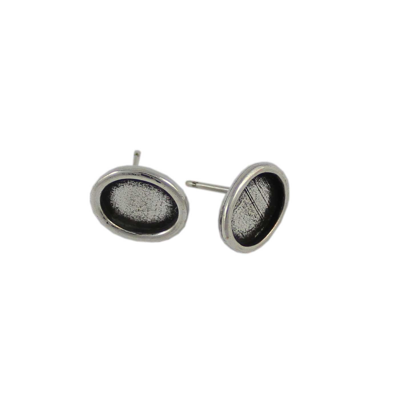 Base pendiente redondo para cristal de 7mm - Bolsa de 30 unidades