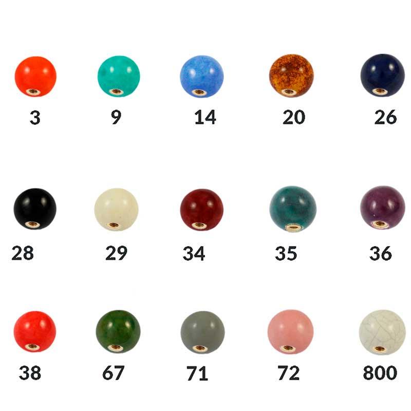 Bolas de cerámica 16 mm