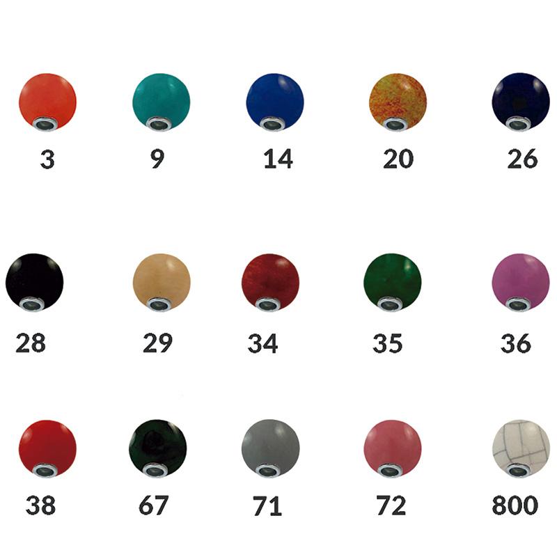 Bolas de cerámica 16 mm - Tamaño aproximado 16 mm