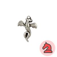 Colgante charms dragón de fuego - Venta en bolsa de 30 unidades