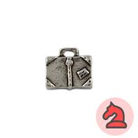 Colgante charms maleta mágica - Venta en bolsa de 30 unidades