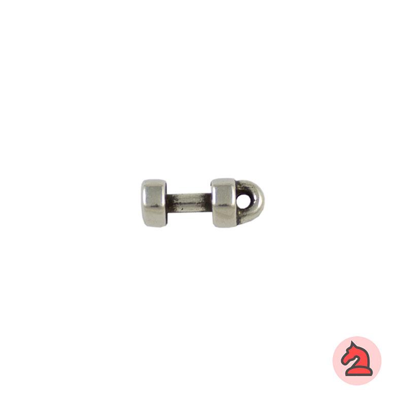 Charm mancuerna - Venta en bolsa de 30 unidadesTamaño 13 mm, Anilla 2 mm