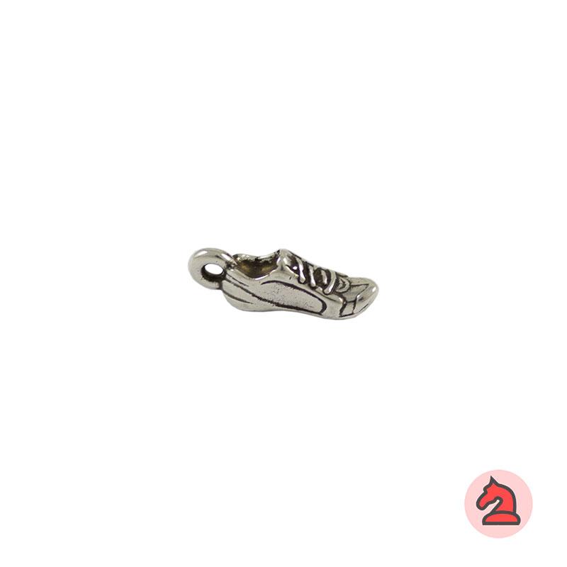 Charm zapatilla - Venta en bolsa de 30 unidadesTamaño 17 mm, Anilla 2 mm